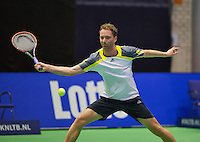 Rotterdam, Netherlands, December 18, 2015,  Topsport Centrum, Lotto NK Tennis, Matwe Middelkoop (NED)<br /> Photo: Tennisimages/Henk Koster