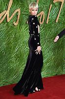 Zendaya<br /> arriving for The Fashion Awards 2017 at the Royal Albert Hall, London<br /> <br /> <br /> ©Ash Knotek  D3356  04/12/2017