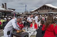 Europe/France/Rhone-Alpes/73/Savoie/Courchevel: Restaurant d'Altitude: Le Cap Horn [Non destiné à un usage publicitaire - Not intended for an advertising use]