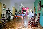 Sala de casa na cidade de Piloes. Paraiba. 2015. Foto de Kleide Teixeira.