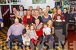 50th Birthday : Mary Joy Mitchell, Mountcoal, Listowel & Athenry, seated front right celebrating her 50th birthday with family at McCarthy's Bar, Finuge on Saturday night last.