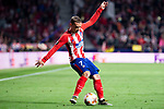 Atletico de Madrid Antoine Griezmann during Europa League Semi Finals First Leg match between Atletico de Madrid and Arsenal FC at Wanda Metropolitano in Madrid, Spain. May 03, 2018.  (ALTERPHOTOS/Borja B.Hojas)