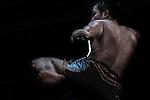 Bare-fist boxing in Myawaddy, Burma