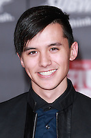 HOLLYWOOD, LOS ANGELES, CA, USA - NOVEMBER 04: Cole Plante arrives at the Los Angeles Premiere Of Disney's 'Big Hero 6' held at the El Capitan Theatre on November 4, 2014 in Hollywood, Los Angeles, California, United States. (Photo by David Acosta/Celebrity Monitor)