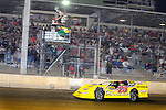 Sep 12, 2009; 11:05:15 PM; Rossburg, OH., USA; The 39th annual running of the World 100 Dirt Late Models racing for the Globe trophy at the Eldora Speedway.  Mandatory Credit: (thesportswire.net)