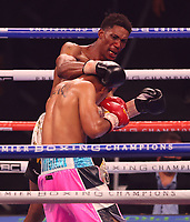 MINNEAPOLIS, MN - JUNE 27: Angel Chavez defeated Arsenio Hall on the Fox Sports PBC fight at The Armory on June 27, 2021 in Minneapolis, Minnesota. (Photo by Carlos Gonzalez/Fox Sports/PictureGroup)