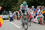 Emanuel Buchmann (GER) Bora-Hansgrohe climbs Col de Marie Blanque during Stage 9 of Tour de France 2020, running 153km from Pau to Laruns, France. 6th September 2020. <br /> Picture: Colin Flockton   Cyclefile<br /> All photos usage must carry mandatory copyright credit (© Cyclefile   Colin Flockton)