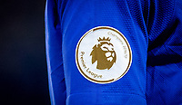 The Chelsea shirt with Champions 2016/17 Premier League badge during the EPL - Premier League match between Chelsea and Manchester United at Stamford Bridge, London, England on 5 November 2017. Photo by Andy Rowland / PRiME Media Images.