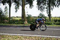 Leah Thomas (USA/Movistar)<br /> <br /> Women Elite Individual Time Trial from Knokke-Heist to Bruges (30.3 km)<br /> <br /> UCI Road World Championships - Flanders Belgium 2021<br /> <br /> ©kramon