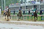 May 1 2010: Atta Boy Roy with Calvin Borel up (inside) drives for the wire in the G2 Churchill Downs Stakes at Churchill Downs in Louisville, Kentucky.