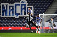20th December 2020; Dragao Stadium, Porto, Portugal; Portuguese Championship 2020/2021, FC Porto versus Nacional; Mateus Uribe of FC Porto and Brayan Riascos of Nacional