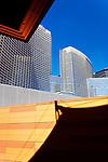 Las Vegas - Architecture of Las Vegas , Nevada.  Photograph by Alan Mahood.