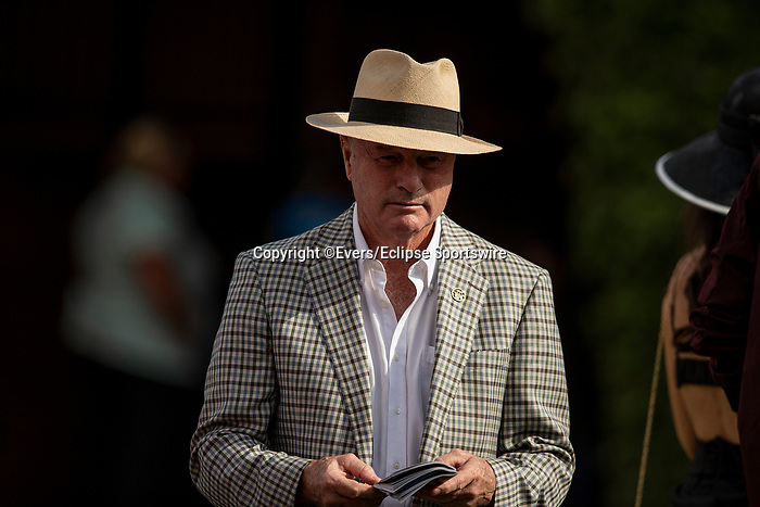 JULY 18, 2021: Richard Mandella at Del Mar Fairgrounds in Del Mar, California on July 18, 2021. Evers/Eclipse Sportswire/CSM