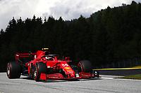 #55 Carlos Sainz Jr Scuderia Ferrari. Formula 1 World championship 2021, Styrian GP 2021, 26 June 2021<br /> Photo Federico Basile / Insidefoto