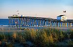 Fishing pier, Ocean City, New Jersey.
