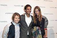 Rafael NADAL - Malgosia BELA et son fils Jozef - Tommy X Nadal Event - Tommy Hilfinger - Paris 18 mai 2016 - FRANCE