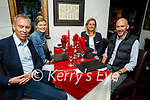 Enjoying the evening in Cassidy's on Friday, l to r: Sean, Kate, Una and Seamus Cooke