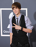 Justin Bieber at The 52nd Annual GRAMMY Awards held at The Staples Center in Los Angeles, California on January 31,2010                                                                   Copyright 2009  DVS / RockinExposures