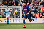 Paulinho Maciel of FC Barcelona in action during the La Liga 2017-18 match between FC Barcelona and RC Celta de Vigo at Camp Nou Stadium on 02 December 2017 in Barcelona, Spain. Photo by Vicens Gimenez / Power Sport Images