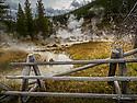 October 8 thru October 21, 2017 / Cross country Trip to Yellowstone National Park in Yellowstone, Wyoming. Shown are the Artist Paintpots hot springs /   Stops in Laramie, Jackson, Yellowstone with travels thru Pennsylvania, Ohio, Indiana, South Dakota, Wyoming, Montana, North Dakota, Missouri, Minnosota, and Illanois.