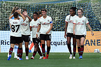 11th September 2021;  Mirko Fersini Stadium, Rome, Italy ; Serie A Womens championship football, Lazio versus Milan ; Valentina Giacinti of Milan celebrate after scoring her goal