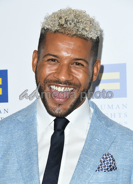 10 March 2018 - Los Angeles, California - Jeffrey Bowyer-Chapman. The Human Rights Campaign 2018 Los Angeles Dinner held at JW Marriott LA Live. Photo Credit: Birdie Thompson/AdMedia