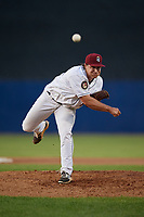 Mahoning Valley Scrappers pitcher Brian Eichhorn (44) during a NY-Penn League game against the Hudson Valley Renegades on July 15, 2019 at Eastwood Field in Niles, Ohio.  Mahoning Valley defeated Hudson Valley 6-5.  (Mike Janes/Four Seam Images)