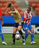 Kate Bennett (USA)..FIFA U17 Women's World Cup, Paraguay v USA, Waikato Stadium, Hamilton, New Zealand, Sunday 2 November 2008. Photo: Renee McKay/PHOTOSPORT