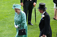 Her Majesty The Queen attends The Coronation Stakes Day of Royal Ascot 2017 at Royal Ascot Racecourse on Friday 23rd June 2017 (Photo by Rob Munro/Stewart Communications)