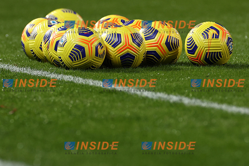 Balls Serie A<br /> prior to the Serie A football match between Benevento Calcio and Spezia Calcio at stadio Ciro Vigorito in Benevento (Italy), November 7th, 2020. <br /> Photo Cesare Purini / Insidefoto