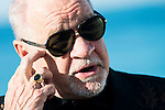"""American screenwriter and director Paul Schrader during interview with Making Off of the film """"Dog Eat Dog"""" at Festival de Cine Fantastico de Sitges in Barcelona. October 11, Spain. 2016. (ALTERPHOTOS/BorjaB.Hojas)"""