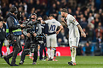 Sergio Ramos of Real Madrid poses in front of the camera as the La Liga match between Real Madrid and RC Deportivo La Coruna ends at the Santiago Bernabeu Stadium on 10 December 2016 in Madrid, Spain. Photo by Diego Gonzalez Souto / Power Sport Images