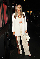 Frankie Sims at the boohooMan Love Island Party, boohoo, Great Portland Street, on Thursday 07th October 2021, in London, England, UK. <br /> CAP/CAN<br /> ©CAN/Capital Pictures