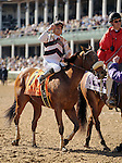 Amazombie , ridden by jockey Mike Smith and trained by Bill Spawr wins the Breeders' Cup Sprint at Churchill Downs on  November 4, 2011..