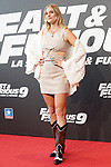 Ana Ferrer during the photocall for the 'Fast & Furious 9' Madrid Premiere. June 17, 2021. (ALTERPHOTOS/Acero)