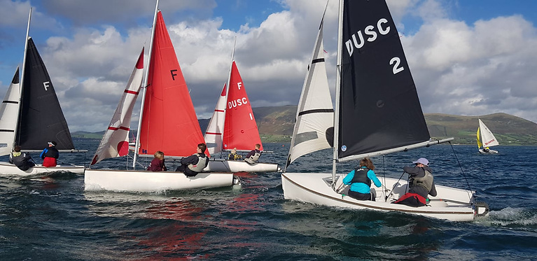 Carlingford College Combat - This was one of the biggest sporting events run on the water in 2021, and probably the biggest on Carlingford Lough since the fabled Oyster Festival series.