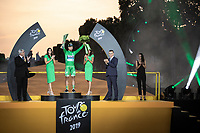 Peter Sagan (SVK/Bora Hansgrohe) wins the green jersey for the 7th time. <br /> <br /> Stage 21: Rambouillet to Paris (128km)<br /> 106th Tour de France 2019 (2.UWT)<br /> <br /> ©kramon