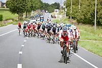 Damien Gaudin (FRA/TotalEnergies) setting the pace<br /> <br /> Grote Prijs Marcel Kint 2021<br /> One day race from Zwevegem to Kortrijk (196km)<br /> <br /> ©kramon