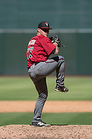 Arizona Diamondbacks relief pitcher Kevin Watson (26) delivers a pitch to the plate during an Instructional League game against the Kansas City Royals at Chase Field on October 14, 2017 in Phoenix, Arizona. (Zachary Lucy/Four Seam Images)