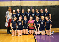8th Grade Volleyball 2/21/19
