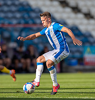 12th September 2020 The John Smiths Stadium, Huddersfield, Yorkshire, England; English Championship Football, Huddersfield Town versus Norwich City;  Jonathan Hogg of Huddersfield Town cuts the ball back
