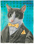 Ingrid, REALISTIC ANIMALS, REALISTISCHE TIERE, ANIMALES REALISTICOS,cat, paintings+++++,USISPROV24,#a#, EVERYDAY