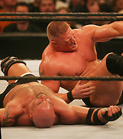 Brock Lesnar  Goldberg 2004                            Photo By John Barrett/PHOTOlink