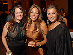 Kristine Patrick, Dawn Erickson and Laura Duke at the Una Notte in Italia dinner and fashion show at the InterContinental Hotel Friday Nov. 07, 2008. (Dave Rossman/For the Chronicle)