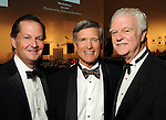 From left: Ralph Eads, Leo Favrot and Lenoir Josey at the One Great Night in November event at the Museum of Fine Arts Houston Wednesday Nov. 16,2011.(Dave Rossman/For the Chronicle)