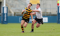 Friday 17th March 2017 | ULSTER SCHOOLS CUP FINAL<br /> <br /> Rhys O'Donnell makes a break during the Ulster Schools Cup Final between RBAI and MCB at Kingspan Stadium, Ravenhill Park, Belfast, Northern Ireland.<br /> <br /> Photograph by John Dickson | www.dicksondigital.com