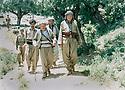 Iraq 1984 Near Duhok, right Abou Jemid of communist party  in charge of Duhok area and Najmeddin Yousefi  Irak 1984 A cote de Duhok, a droite Abu Jemil , cadre du parti communiste, responsable de la region de Duhok et Najmeddin Yousefi