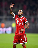 05.12.2017, Football UEFA Champions League 2017/2018,  , 6. match day, FC Bayern Muenchen - Paris Saint Germain, in Allianz-Arena Muenchen, Arturo Vidal (FC Bayern Muenchen) .  *** Local Caption *** © pixathlon<br /> <br /> +++ NED + SUI out !!! +++<br /> Contact: +49-40-22 63 02 60 , info@pixathlon.de