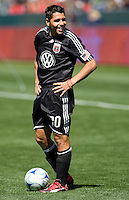 DC United's Christian Gomez battle. The LA Galaxy and DC United play to 2-2 draw at Home Depot Center stadium in Carson, California on Sunday March 22, 2009.