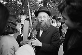 Jewish man celebrating Purim.  Speakers' Corner, Hyde Park, London.